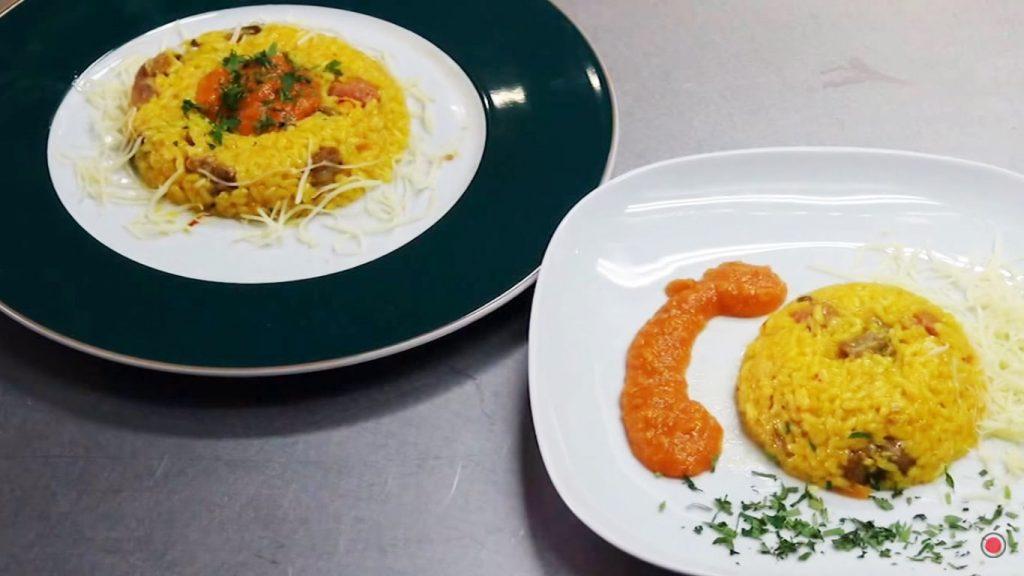 arroz a la milanesa receta