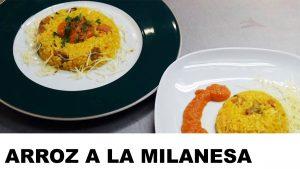 receta del arroz a la milanesa
