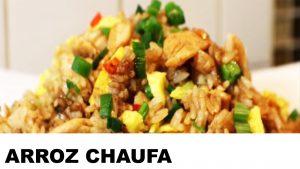 receta del arroz chaufa