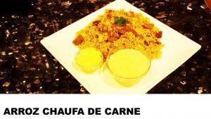 receta arroz chaufa de carne