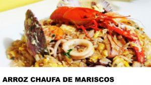 receta arroz chaufa de mariscos