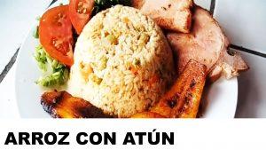 receta del arroz con atún