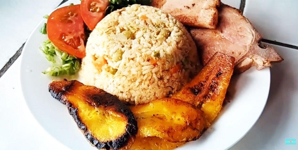 arroz con atún receta