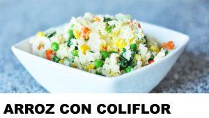 receta arroz de coliflor