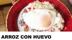 receta del arroz con huevo