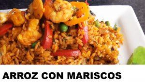 receta del arroz con mariscos