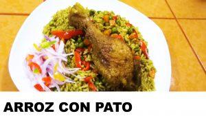 receta del arroz con pato
