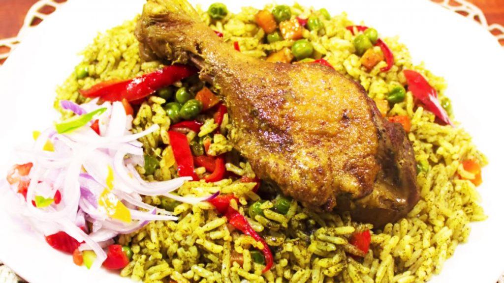 arroz con pato receta