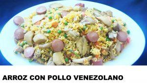 como cocinar arroz con pollo venezolano
