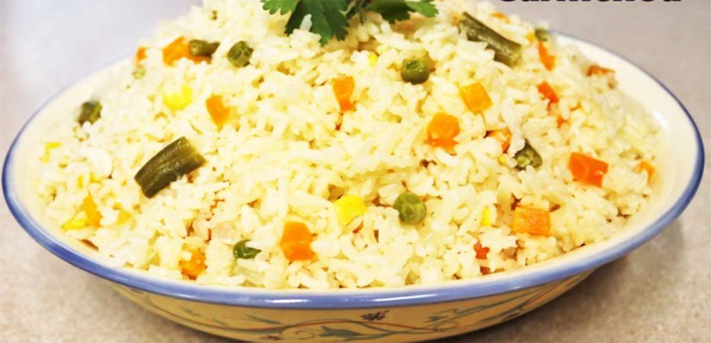 arroz con verduras recetas