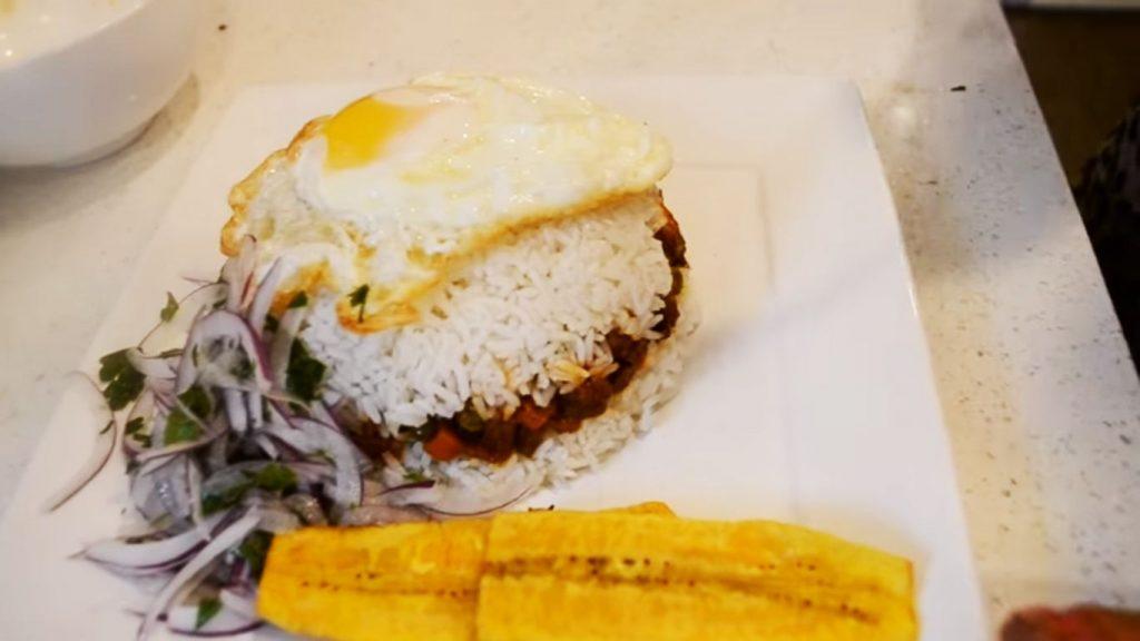 arroz tapado receta