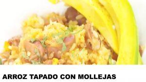 receta arroz tapado con mollejas