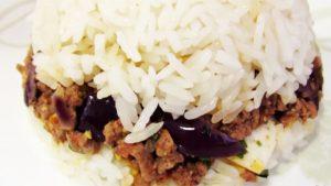 foto de arroz tapado