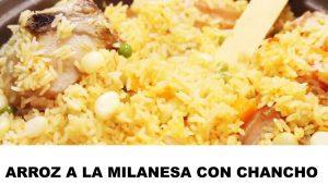 receta arroz a la milanesa con chancho