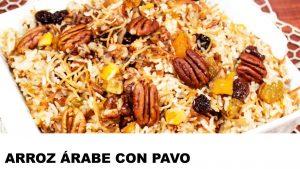 receta arroz árabe con pavo