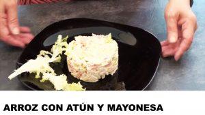 receta arroz con atún y mayonesa