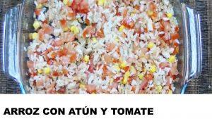 receta arroz con atún y tomate