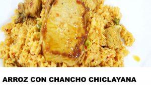 receta de arroz con chancho a la chiclayana