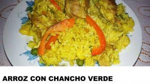 receta arroz con chancho verde