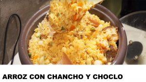 receta arroz con chancho y choclo