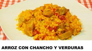 receta arroz con chancho y verduras