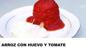 receta arroz con huevo y tomate
