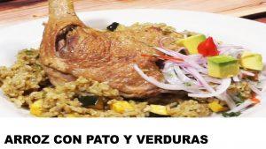 receta arroz con pato y verduras