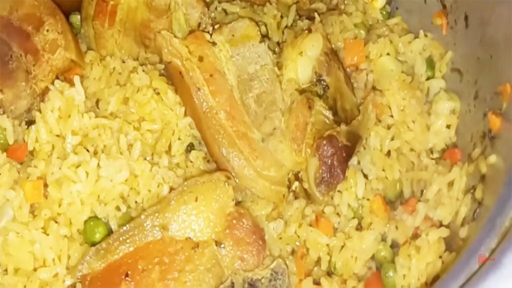 receta de arroz a la milanesa con chancho