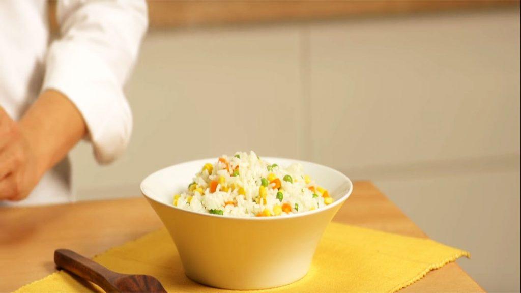receta de arroz a la primavera