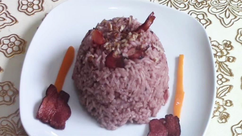 receta de arroz árabe con aceitunas