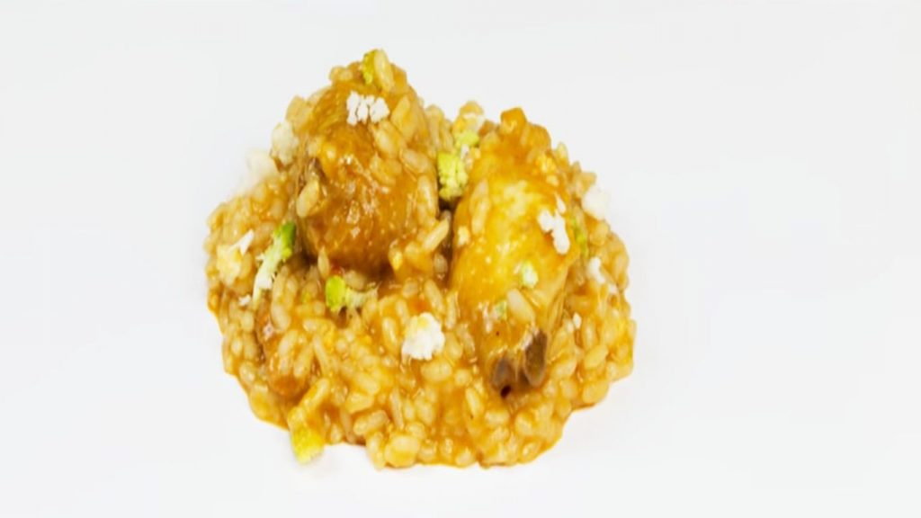 receta de arroz de coliflor con pollo