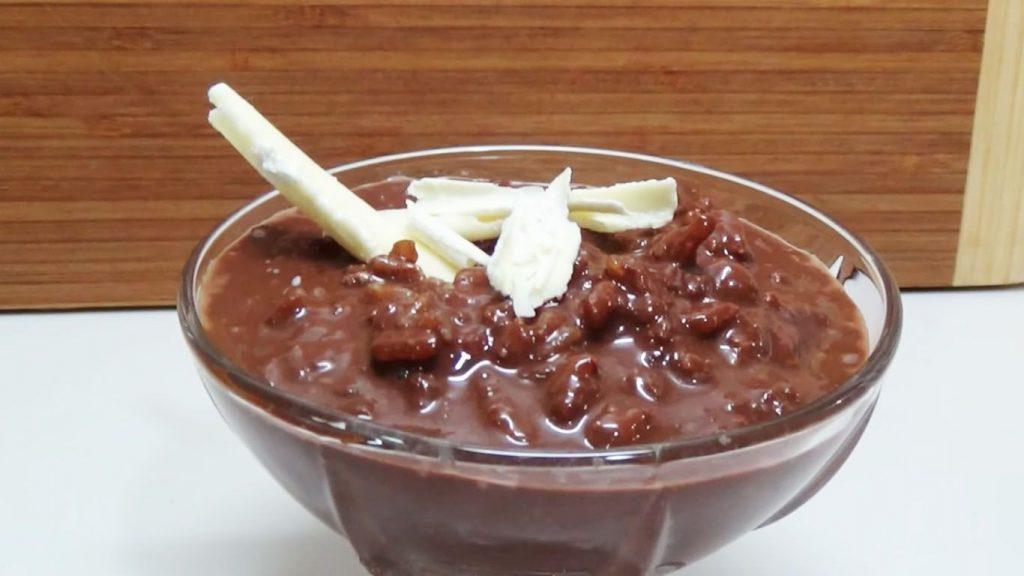 receta de arroz con leche y chocolate