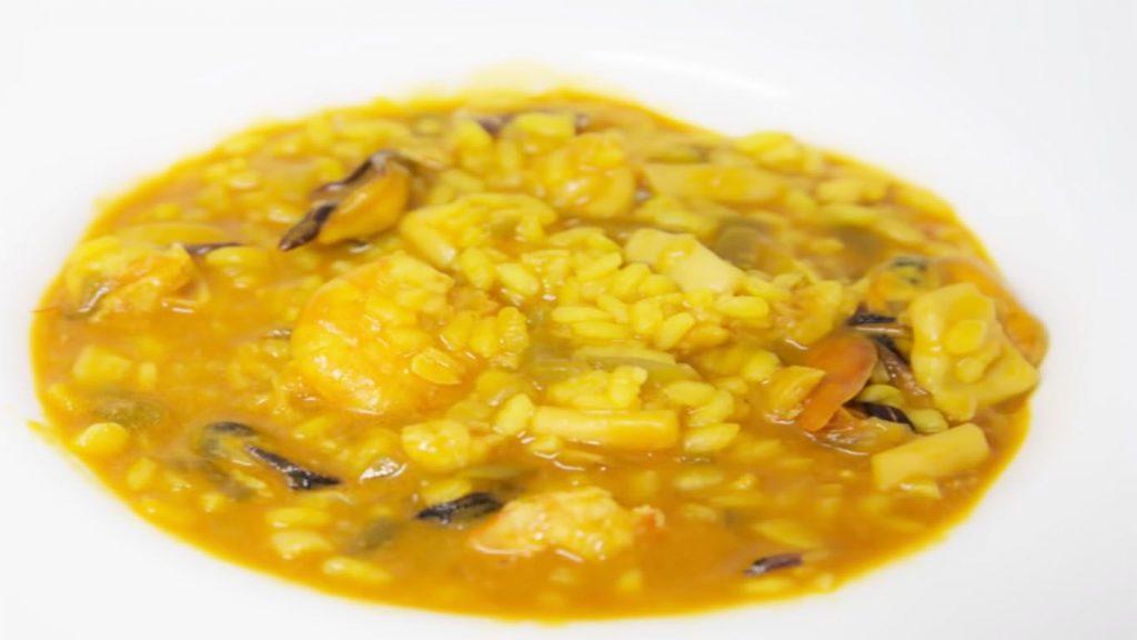 receta de arroz con mariscos portugués
