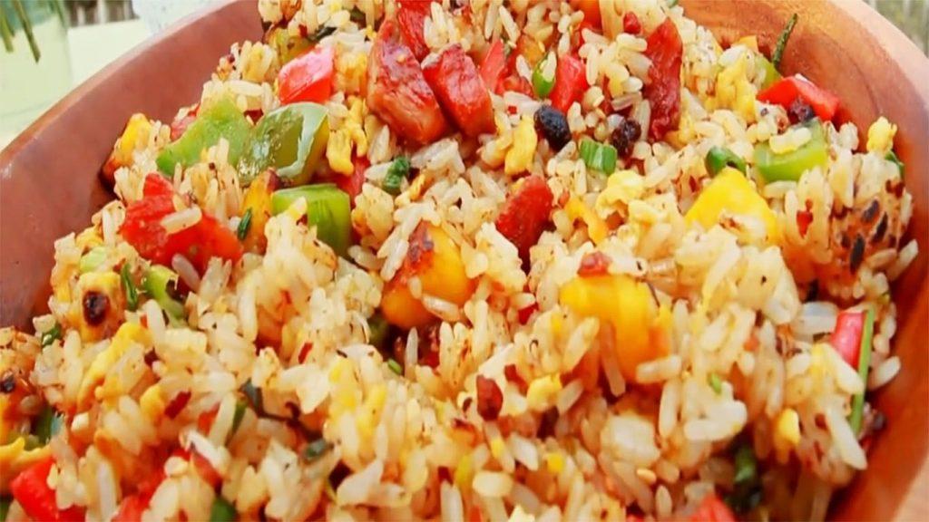 receta de arroz chaufa de cecina de la selva