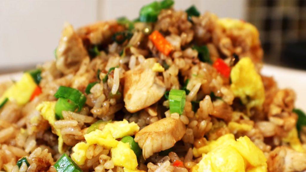 receta de arroz chaufa de pollo