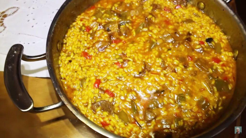 receta de arroz con pato y verduras