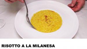 receta de risotto a la milanesa