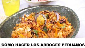 como hacer arroces peruanos