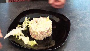 imagen de arroz con atún y mayonesa