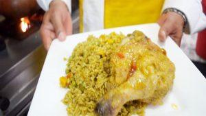 imagen de arroz con pato a la chiclayana