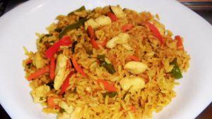 foto arroz con pollo