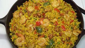 imagen de arroz con pollo
