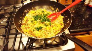 imagen de arroz chaufa con carne