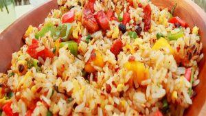 imagen de arroz chaufa con cecina