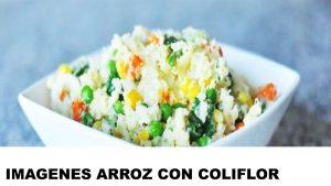 fotos de arroz con coliflor
