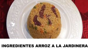 arroz a la jardinera ingredientes