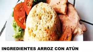 arroz con atún ingredientes