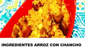 arroz con chancho ingredientes