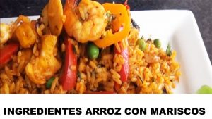 arroz con mariscos ingredientes