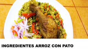 arroz con pato ingredientes